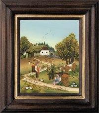 Postkartenserie klein hoch Herbst