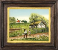 Postkartenserie groß Frühling