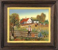Postkartenserie groß Herbst
