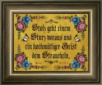 Biblische Sprüche Gold 12