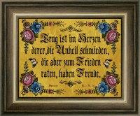 Biblische Sprüche Gold 14