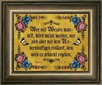 Biblische Sprüche Gold 9